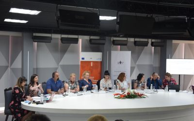 NGO AKTIV organized a final conference within the project Capacity development of Coordination Mechanism members to implement Domestic Violence Action Plans in seven municipalities in Kosovo