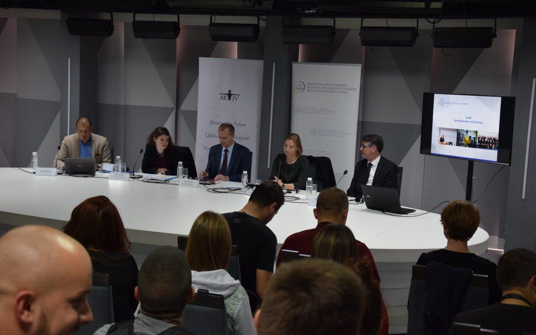 Predavanje za studente na temu rada Specijalizovnih veća Kosova